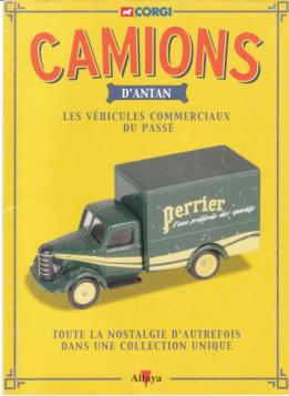 Un lot de 4 fascicules de la collection Camions d'antan d'Altaya Editions