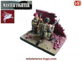 Les figurines Red Devils à Arnhem en 1944 de Master Fighter au 1/48e