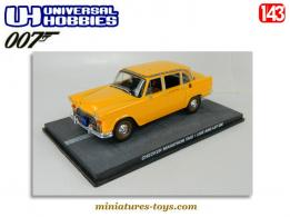 Le Taxi Checker Marathon de James Bond en miniature au 1/43e incomplet