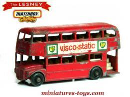 le bus miniature anglais aec a imp riale en miniature de lesney au 1 87e miniatures toys. Black Bedroom Furniture Sets. Home Design Ideas
