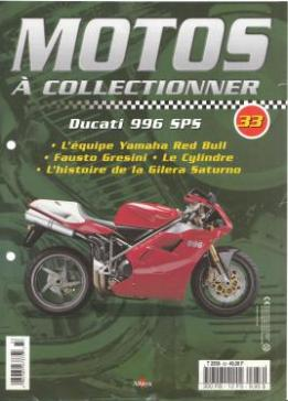 Un lot de 11 fascicules de la collection Motos a collectionner d'Altaya Editions...
