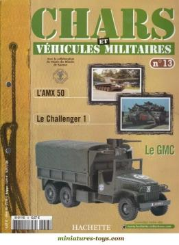 Le fascicule n°13 de la collection Hachette de miniatures militaires Solido