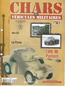 Le fascicule n° 14 de la collection Hachette de Solido militaires