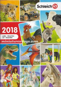 Le Catalogue de figurines Schleich de 2018