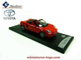 Le roadster Toyota MR2 miniature de Solido au 1/43e