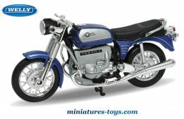 La moto BMW 75 5 en miniature de Welly au 1/18e