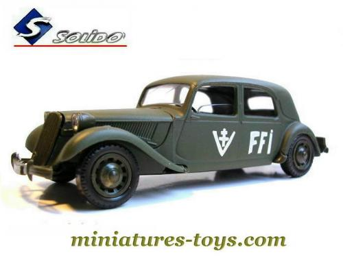 la traction avant citro u00ebn 15 cv ffi miniature de solido au
