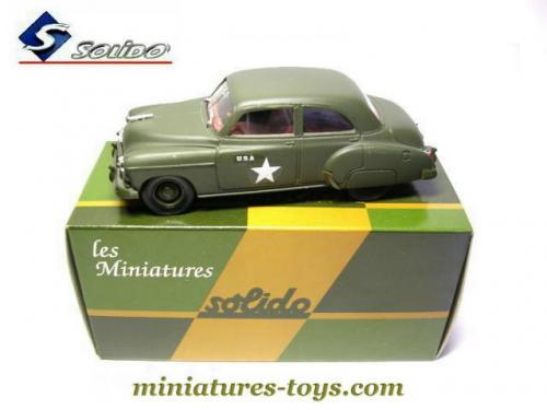 la voiture chevrolet hq militaire en miniature de solido au 1 43e miniatures toys. Black Bedroom Furniture Sets. Home Design Ideas