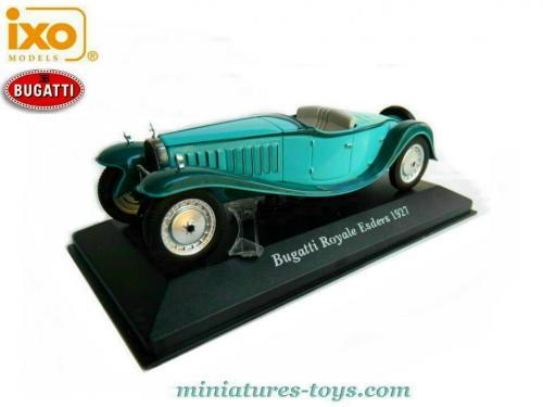 La Bugatti Royale Esders 1927 Au 1 43e D Altaya Avec Son