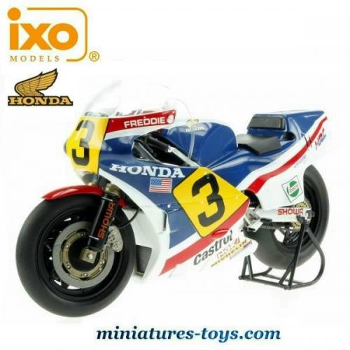 la moto honda ns500 de freddie spencer en miniature par ixo models au 1 12e miniatures toys. Black Bedroom Furniture Sets. Home Design Ideas