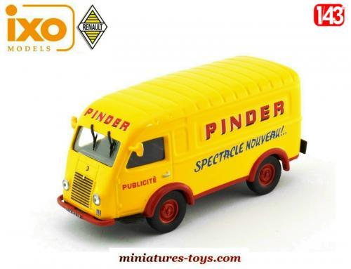 le renault 1000 kg t l du cirque pinder en miniature par ixo models au 1 43e miniatures toys. Black Bedroom Furniture Sets. Home Design Ideas