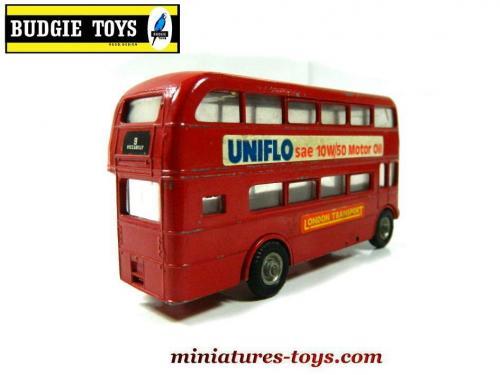 le bus anglais aec routemaster imp rial en miniature de budgie toy au 1 65e miniatures toys. Black Bedroom Furniture Sets. Home Design Ideas