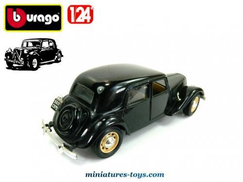 la traction avant citro u00ebn 15 cv 1938 miniature de burago au 1  24e incompl u00e8te miniatures