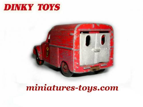 la porte arri re de la 2cv azu citro n camionnette de dinky toys france miniatures toys. Black Bedroom Furniture Sets. Home Design Ideas