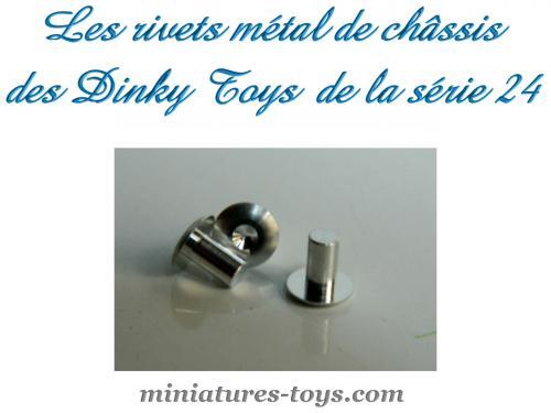 Dinky Les Métal De Châssis Rivets France Pour Miniatures Toys b6vyf7gY