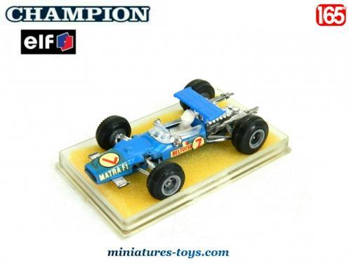 Matra Formule Elf Miniature 1 Par V12 En Champion La Zandwoort Pour SzVpqUMG