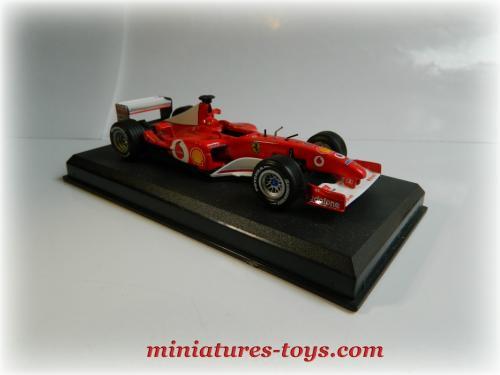 la ferrari formule 1 f miniature au 1 43e d 39 ixo models incompl te miniatures toys. Black Bedroom Furniture Sets. Home Design Ideas