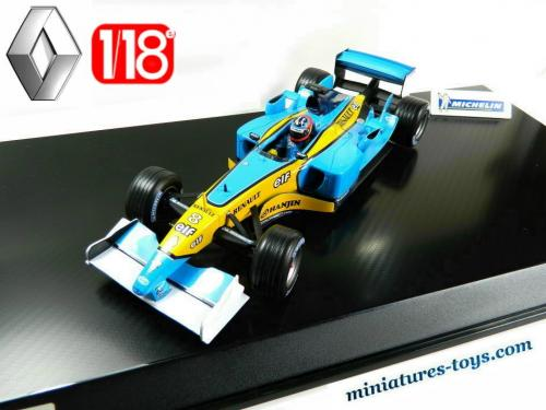le formule 1 renault michelin en miniature au 1 18e concessionnaire miniatures toys. Black Bedroom Furniture Sets. Home Design Ideas