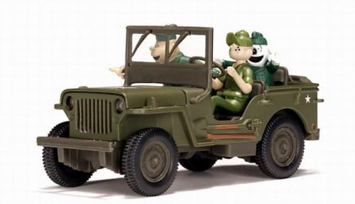 la jeep willys miniature du sergent bailey par gate au 1 32e miniatures toys. Black Bedroom Furniture Sets. Home Design Ideas