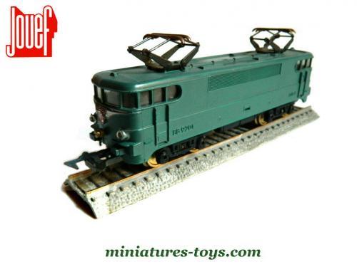 la locomotive lectrique bb 9201 premi re version courte au h0 de jouef miniatures toys. Black Bedroom Furniture Sets. Home Design Ideas
