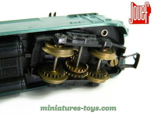 la locomotive lectrique bb 9201 deuxi me version courte de jouef au ho miniatures toys. Black Bedroom Furniture Sets. Home Design Ideas