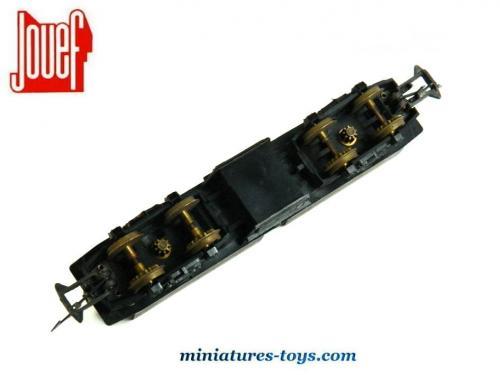 le ch ssis de la locomotive lectrique bb 9201 miniature au h0 de jouef miniatures toys. Black Bedroom Furniture Sets. Home Design Ideas