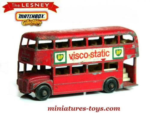 le bus miniature anglais aec a imp riale en miniature de lesney au 1 87e miniatures toys. Black Bedroom Furniture Sets. Home Design Ideas