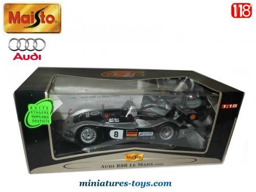 118e Le Mans Miniature Par L'audi 1999 R8r Miniatures En Maisto Au Toys PkuXZiOT