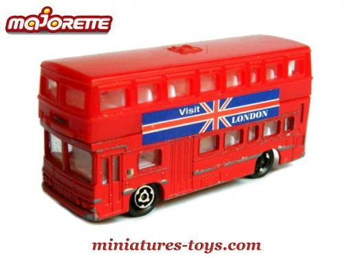 un bus anglais aec a imp riale en miniature de majorette au 1 125e miniatures toys. Black Bedroom Furniture Sets. Home Design Ideas