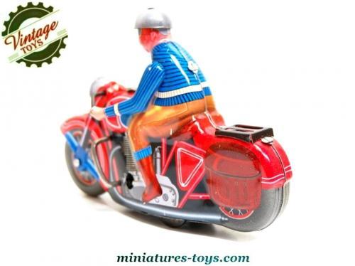 La Miniature En Moto Ancien Réalisée Métal D'un Jouet A Façon eWQdxBroC