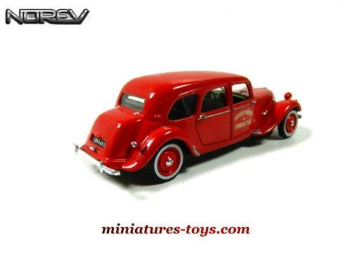 La Traction Avant Citro 235 N 11 1955 Pompiers En Miniature De