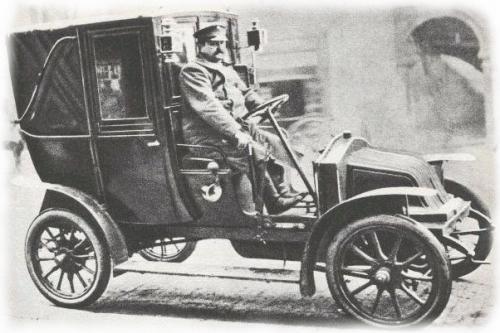 le taxi de la marne renault 1907 miniature par rami au 1 43e incomplet miniatures toys. Black Bedroom Furniture Sets. Home Design Ideas