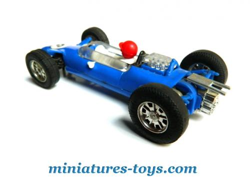 la c82 lotus 25 bleue miniature pour circuit lectrique scalextric au 1 43e miniatures toys. Black Bedroom Furniture Sets. Home Design Ideas