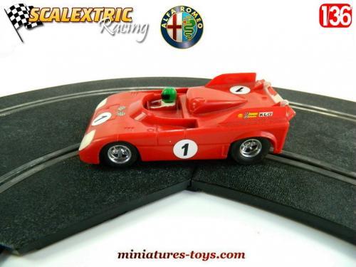 Alfa CircuitsVoitures Scalextric Car Roméo Slot Électriques Tt C103 nwOP80kX