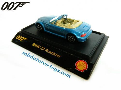 le roadster bmw z3 de james bond 007 miniature au 1 65e de shell miniatures toys. Black Bedroom Furniture Sets. Home Design Ideas
