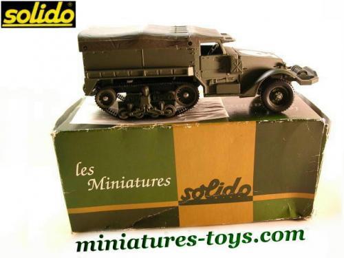 Half track us m3 b 226 ch 233 en miniature au 1 50e de solido miniatures