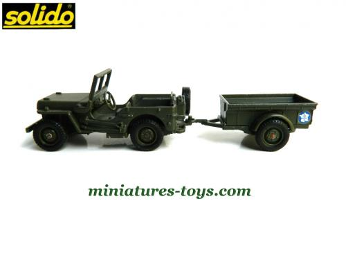 référence fabricant jeep solido la jeep willys de type 1943