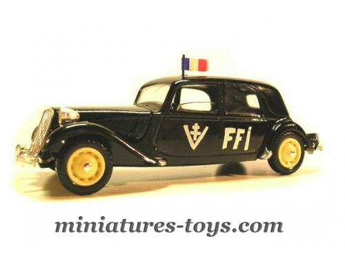 la traction avant citro u00ebn 15 cv version ffi miniature au 1