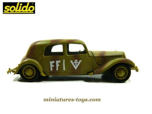 la voiture traction avant citro u00ebn 15 cv ffi camo de solido