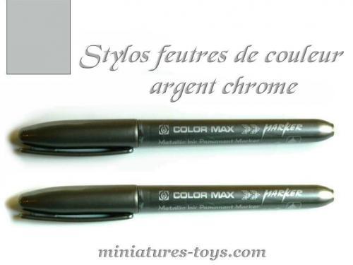 deux stylos de type marqueurs pour peindre ou retoucher le chrome de vos miniatures miniatures toys. Black Bedroom Furniture Sets. Home Design Ideas