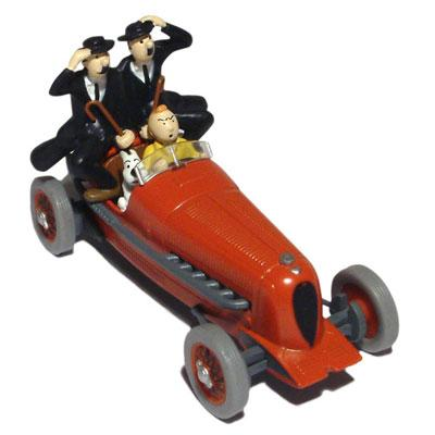 le bolide rouge de tintin les cigares du pharaon en miniature d 39 atlas au 1 43e miniatures toys. Black Bedroom Furniture Sets. Home Design Ideas
