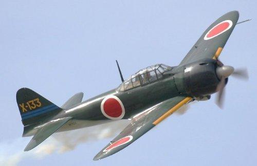L 39 avion de chasse japonais mitsubishi z ro en jouet - Porte avion japonais seconde guerre mondiale ...