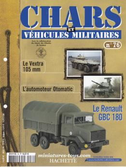 Le fascicule n° 76 de la collection Hachette de miniatures Solido militaires