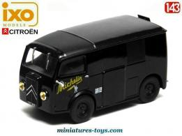 Le Citroën TUB Michelin de 1939 en miniature par Ixo-Models au 1/43e
