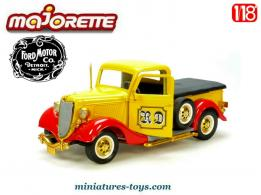 Le pick-up Ford V8 1936 en miniature par Majorette au 1/18e