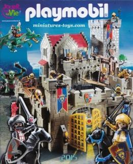 Le catalogue grand format Playmobil 2015