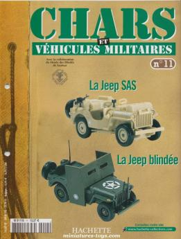Le fascicule n°11 de la collection Hachette de miniatures militaires Solido