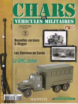 Le fascicule n°56 de la collection Hachette de miniatures militaires Solido