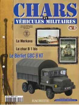 Le fascicule n°8 de la collection Hachette de miniatures militaires Solido