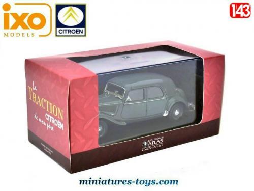 CITROËN Traction avant 15-six gris voiture 1//43 atlas voiture de mon père
